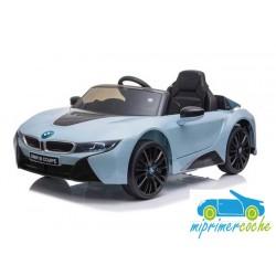 Coche Eléctrico Para Niños BMW I8 AZUL 12V con mando a distancia 2.4G