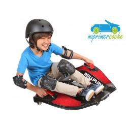 Kart Eléctrico Infantil ROLLPLAY Nighthawk Rojo 12v