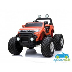 FORD MONSTER TRUCK 1 PLAZA 12V 4X4 NARANJA Pantalla MP4