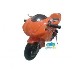 Moto eléctrica DUCATI STYLE 36V 800W color naranja