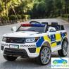 Coche de POLICÍA blanco12V con mando a distancia 2.4G