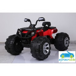 Quads Eléctrico para Niños ATV MONSTER 24V Rojo