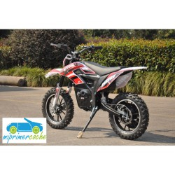 Moto eléctrica OVEX CROSS 24V 500W color rojo