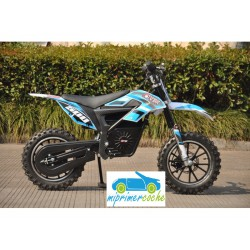 Moto eléctrica OVEX CROSS 24V 500W color azul
