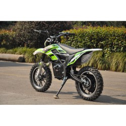 Moto eléctrica OVEX CROSS 24V 500W color verde