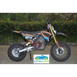 Moto eléctrica OVEX CROSS 36V 1000W color naranja