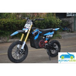 Moto eléctrica OVEX CROSS 36V 1000W color azul
