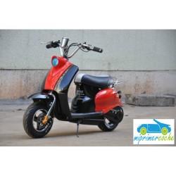 Moto eléctrica VESPA STYLE OVEX 24V 250w color rojo