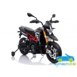 Moto eléctrica para niños APRILIA RACING 12V