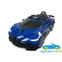 BUGATTI DIVO 12V azul con mando parental 2.4G