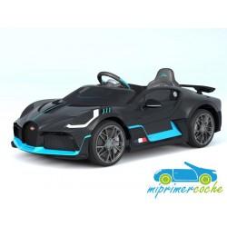 BUGATTI DIVO 12V negro con mando parental 2.4G