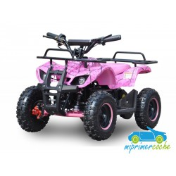 Quads eléctrico infantil URBAN 36V 800W color rosa