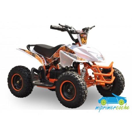 Quads eléctrico infantil ROCKET 36V 800W color naranja