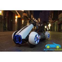 Kart Eléctrico Infantil GO CART FC-8818 12V blanco con mando 2.4G