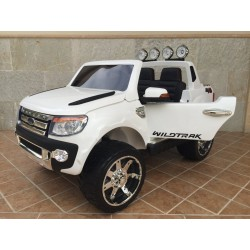FORD RANGER PICK-UP BLANCO 12V con mando 2.4G