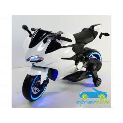 Moto eléctrica para niños DUCATI SUPERBIKE 1299 PANIGALE STYLE  BLANCO 12V
