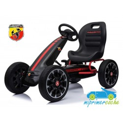 Kart a Pedales para niños FIAT ABARTH NEGRO