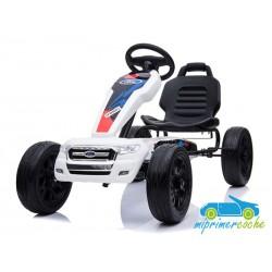Kart Infantil a Pedales FORD GO KART Blanco