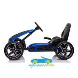 Kart Infantil a Pedales MERCEDES GO KART Azul