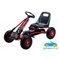 Kart Infantil a Pedales FORMULE 01 GO KART Rojo