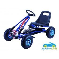 Kart Infantil a Pedales FORMULE 01 GO KART Azul
