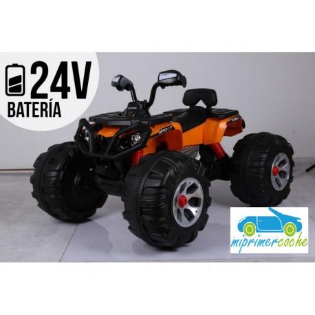 Quads Eléctrico para Niños ATV MONSTER 24V Naranja