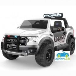 FORD RANGER RAPTOR BLANCO POLICE 2 PLAZAS 12V