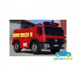 Camión BOMBERO 12V  1 PLAZA 2.4G (Versión standard )