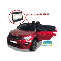 LAND ROVER DISCOVERY 12V Rojo con pantala MP4  2.4G
