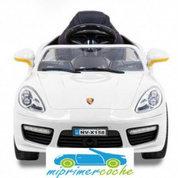 Estilo Kijana Porsche rojo 12V  control parental 2.4G