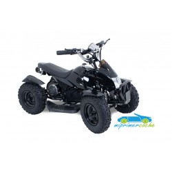 Quad electrico negro E9047