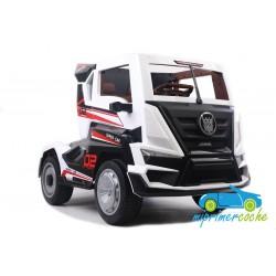 Camión SUPER TRUCK Blanco 24v  2.4G con Remolque