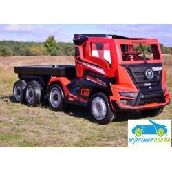 Camión SUPER TRUCK Rojo 24v  2.4G con Remolque