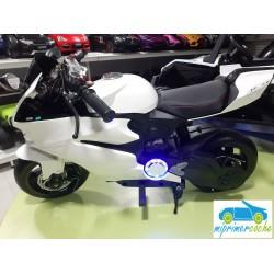 Moto eléctrica para niños DUCATI STYLE 1629 BLANCO 24V