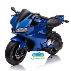 Moto eléctrica para niños DUCATI STYLE 1629 AZUL 24V