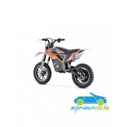 Moto eléctrica ECO TIGER CROSS 24V 500W color rojo