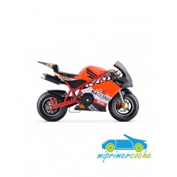 Moto infantil a gasolina GP KRX NARANJA 49CC 2 TIEMPOS