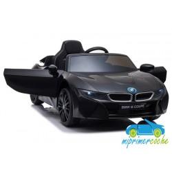 BMW I8 NEGRO 12V con mando a distancia
