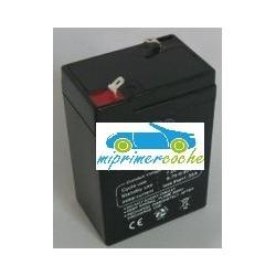 Batería de Plomo 6V 4,5Ah