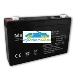 Batería Plomo  6V 7Amperios