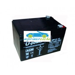 Batería Plomo  12V 12Amperios