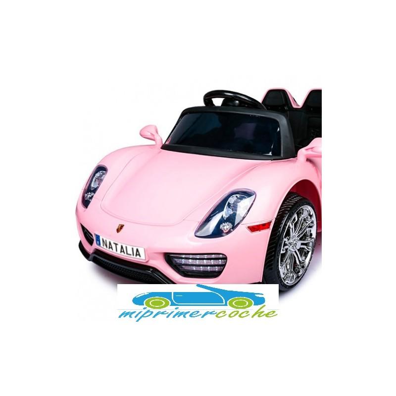 Mini Matrícula coche eléctrico niño - personalizable - Mi Primer Coche