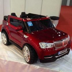 Coche Electrico Infantil TODOTERRENO BMW X5 STYLE 4X4 ROJO METALIZADO 2 PLAZAS