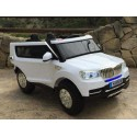 Coche Electrico Infantil TODOTERRENO BMW X5 STYLE 4X4 BLANCO 2 PLAZAS