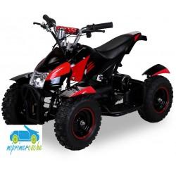 Quads eléctrico infantil COBRA 36V 800W color negro/rojo