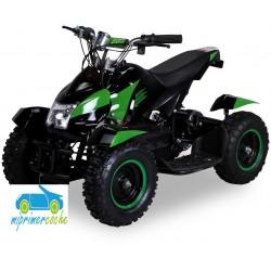 Quads eléctrico infantil COBRA 36V 800W color negro/verde
