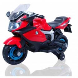 Moto eléctrica para niños BMW STYLE ROJO 6V