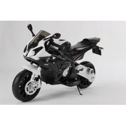 Moto eléctrica para niños BMW S1000RR NEGRO 12V  con ruedas neumáticas