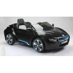 Coche Eléctrico Para Niños BMW I8 NEGRO 12V con mando a distancia