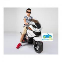 Moto eléctrica para niños BMW STYLE R1200RT BLANCO 12V